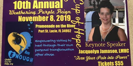 Childs Cry for Help 10th Annual Weathering Purple Reign Luncheon tickets