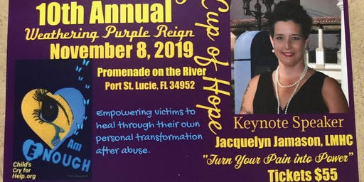 Childs Cry for Help 10th Annual Weathering Purple Reign Luncheon