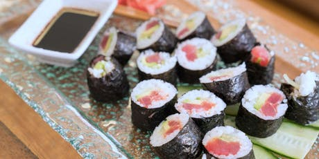 Roll the Perfect Sushi - Cooking Class by Golden Apron™ tickets