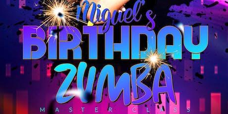 Miguel Birthday Zumba Master Class  tickets