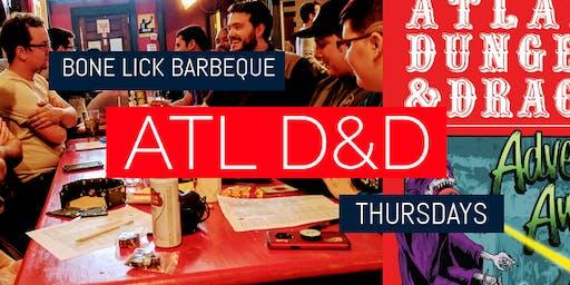 ATL D&D at Bone Lick BBQ