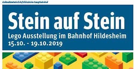 """""""Stein auf Stein"""" 2019: Der kreative Bahnhof für Groß und Klein kommt! Tickets"""