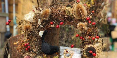 Autumn Wreath Making Workshop - 2 for £50