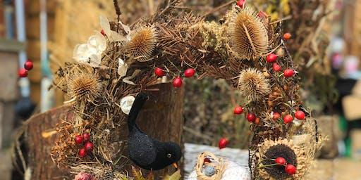 Autumn Wreath Making Workshop - 2 for £50 (Final Autumn Event!)