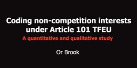 Coding Non-competition Interests Under Article 101 TFEU tickets