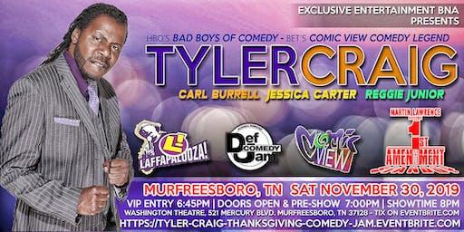 Murfreesboro Thanksgiving Weekend 2K19 Comedy Jam
