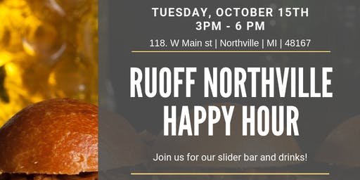 Ruoff Northville Happy Hour