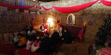 The Hayloft Santa Experience - Monday 23rd & Tues 24th Dec 2019 tickets