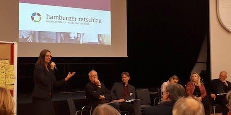 7. HAMBURGER RATSCHLAG: NACHHALTIGE STADTENTWICKLUNG Tickets