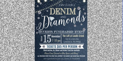 Buckets AAU - Fundraiser Event - Denim and Diamonds