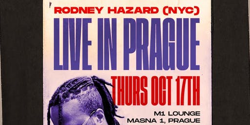 Rodney Hazard (USA) Live at M1 Lounge