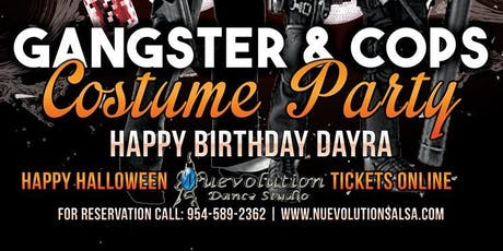 Gangster & Cops Costume Party tickets