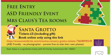 Santa's Sensory Grotto tickets