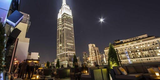 ROOFTOP PARTY | SATURDAY NIGHT | Sky Room NYC Tallest Rooftop Bar Lounge