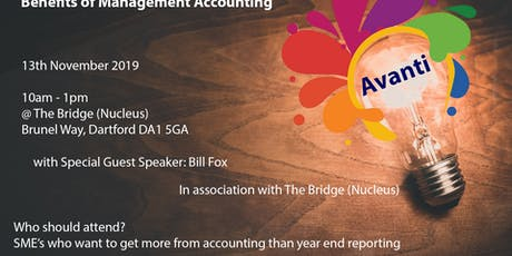 Benefits of Management Accounting tickets