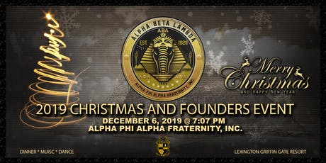 Alpha Phi Alpha ABL Chapter Founders' Recognition tickets