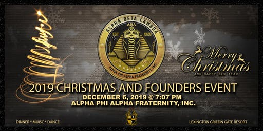Alpha Phi Alpha ABL Chapter Founders' Recognition