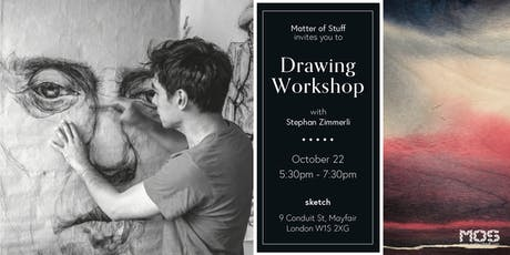 Drawing Workshop with Stephan Zimmerli tickets