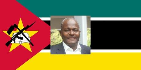 His Excellency Carlos dos Santos Ambassador of Mozambique to the U.S.  tickets