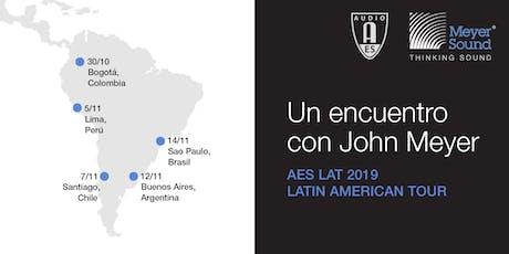 Un Encuentro con JOHN MEYER | Buenos Aires 2019 entradas