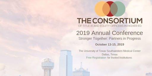 2019 Annual Conference: Title IX Consortium