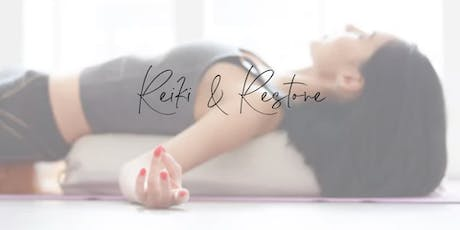 Reiki & Restorative Immersion tickets