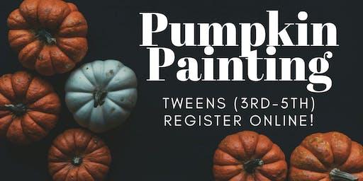 Pumpkin Painting [3rd-5th]