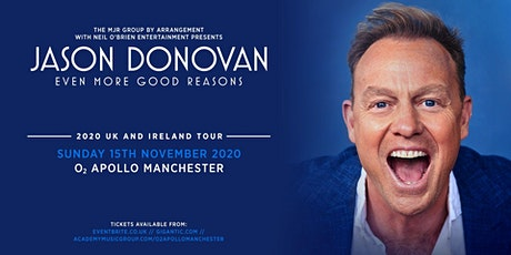 Jason Donovan 'Even More Good Reasons' Tour (Apollo, Manchester) tickets