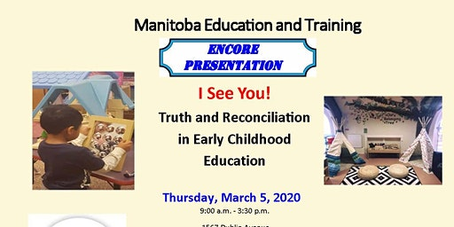 ENCORE PRESENTATION: I See You! Truth and Reconciliation in ECE