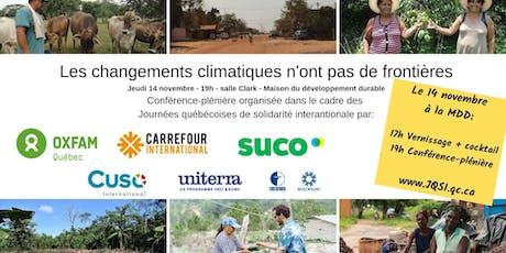 Au-delà des frontières : On agit pour le climat! billets