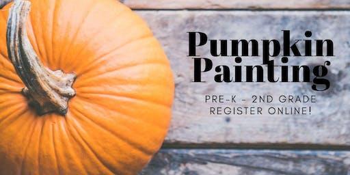 Pumpkin Painting [1st-2nd]