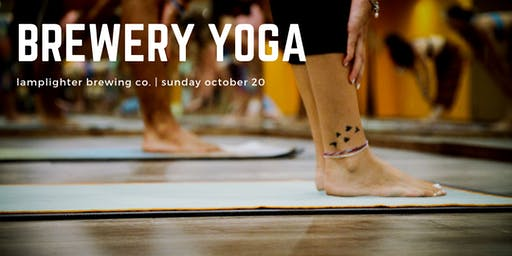Brewery Yoga at Lamplighter