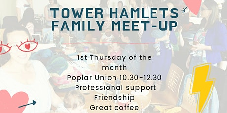 *ONLINE* Tower Hamlets Family meet-up tickets