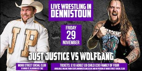 LIVE Family Wrestling - Dennistoun tickets