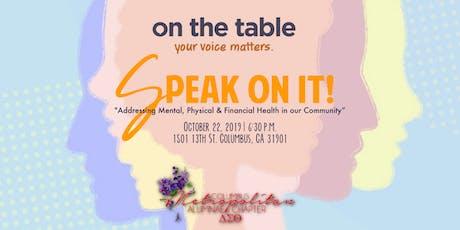 On the Table: Columbus Metropolitan Alumnae Chapter of Delta Sigma Theta Sorority, Inc. tickets
