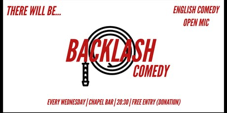 Backlash Comedy #8 Tickets