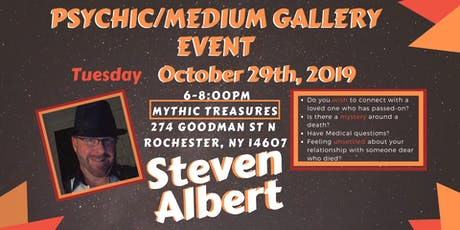 Steven Albert: Psychic Gallery Event - Mythic Treasures10/29 tickets