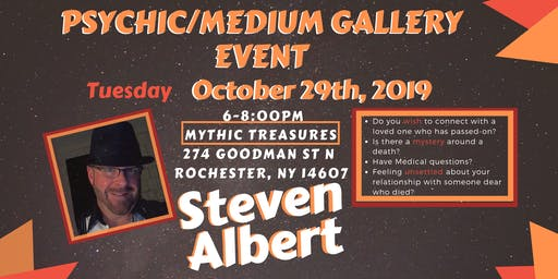 Steven Albert: Psychic Gallery Event - Mythic Treasures10/29