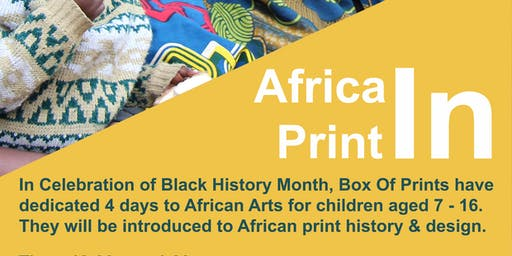 Africa IN Print Fabric Dyeing
