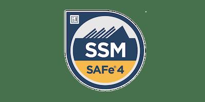 SAFe® Scrum Master (SSM) Certification Workshop - Avenel, NJ