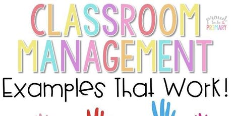 Classroom Management for the Occasional Teacher tickets