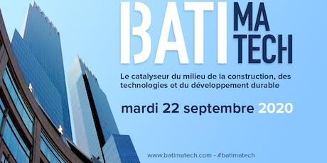 Batimatech 2020  - L'avenir de la construction aujourd'hui! billets