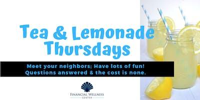 Tea & Lemonade Thursdays