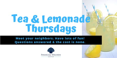 Tea & Lemonade Thursdays - 11/14 tickets