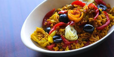Saffron Vegetable Paella - Cooking Class by Cozymeal™