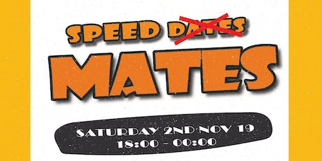 Hellaamelanin Presents: Speed Mates tickets
