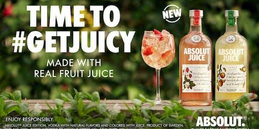 Spill The Juice- North Carolina Absolut Juice Launch
