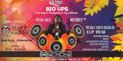 Big Ups- Donald Glaude, Team Umami, KawtnKandy & friends