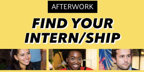 Find your intern/ship - FOLLE COMM Afterwork billets