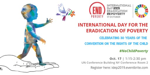 UN Commemoration of the International Day for the Eradication of Poverty